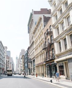 Manhattan neighborhoods: check out the real estate scene and daily lifestyle in Soho/Nolita. Manhattan Neighborhoods, Nyc Real Estate, Soho, Townhouse, Don't Forget, The Neighbourhood, Wanderlust, Street View, New York