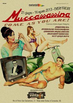 Roma Vintage inizia con un party!
