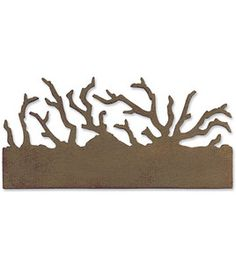 Sizzix On The Edge Die - Twigs  -- designed by @Tim Holtz