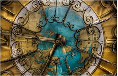 clocks and old maps
