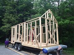 Raising the Walls for My Tiny House