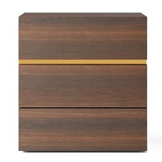 Found it at AllModern - People 3 Drawer Nightstand