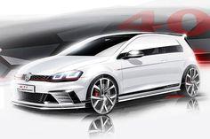 VW Golf GTI Clubsport Teaser