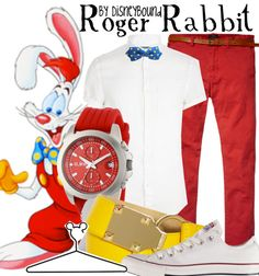 Roger Rabbit by DisneyBound