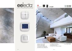 Alcune pagine del catalogo che abbiamo realizzato per Eelectron, presentato alla fiera Light + Building 2016, Francoforte. #bordegoni#cataloghi #domotica #lightbuilding Eelectron SpA