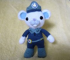 Captain Barnacles from the Octonauts..The baby would love this.