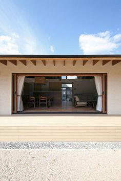 전통적 공간과 현대식 설비의 시너지, 삼대의 전원주택