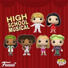 High School Musical, Pop Figures, Vinyl Figures, Ashley Tisdale, Zac Efron, Custom Funko Pop, Custom Pop Vinyl, Venom Funko Pop, Best Funko Pop