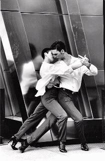 Pasos del baile tango. I love the proximity of their bodies. That takes so much practice and trust to execute. Impressive.