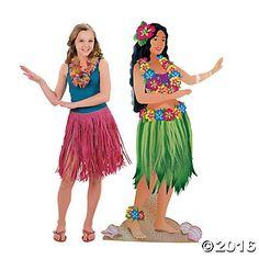 Hula Girl Stand-Up