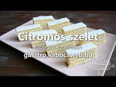 Citromos szelet recept | Kabóca a konyhában
