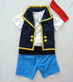 Jake  Jake and the neverland pirates costume  12M to by LoopsyBaby