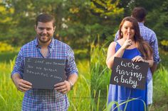 Pregnancy announcement to husband! He was so surprised!