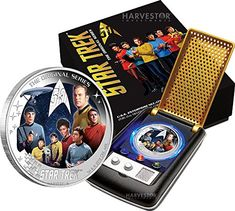 2016 TV 2016 Star Trek: The Original Series - 2 oz. Pure Silver - Crew of the U.S.S. ENTERPRISE NCC-1701 - Communicator  @ niftywarehouse.com #NiftyWarehouse #StarTrek #Trekkie #Geek #Nerd #Products