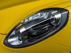 2015 Alfa Romeo 4C Spider Headlamps