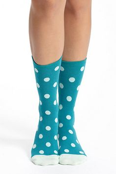 ++ dotted crew socks