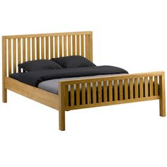 Barker and Stonehouse - The Huxley Solid Oak Bed Frame King Size £599