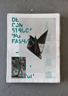 Deconstructing Fashion Newspaper