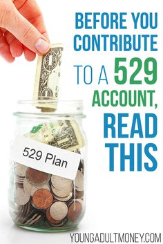 Before you contribute to a 529 Plan, read this. Based on your financial situation and goals, it may not be the best move. College Savings Plans, College Costs, Saving For College, Financial Success, Financial Planning, High Interest Savings Account, 529 Plan