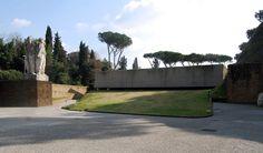IT, Roma, Fosse Ardeatine Monument.  Artist: Mirko Basaldella, Francesco Coccia. Architects: Nello Aprile, Cino Calcaprina, Aldo Cardelli, Mario Fiorentini, Giuseppe Perugini, 1952.