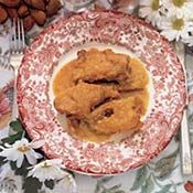 Chicken in Almond Sauce - The Heritage of Spanish Cooking