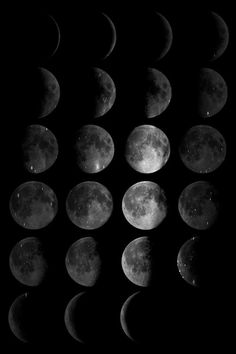 Phases Of The Moon Wallpaper