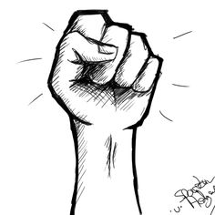 fist drawing - Google Search