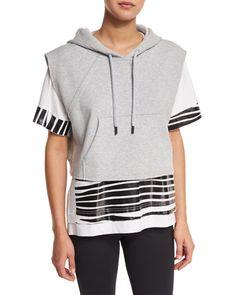 42252ff2bf94c6 I0P91 adidas by Stella McCartney Yoga Sleeveless Cropped Hoodie