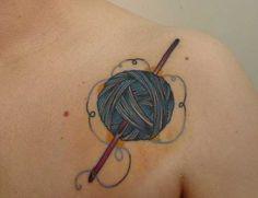 Accro à l'encre: 10 Tatouages cool Crochet |
