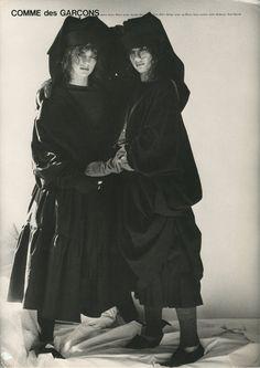 Comme des Garcons | Photograph by Bruce Weber 1980.