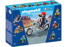Moto custom con centauro - PLAYMOBIL® Italia