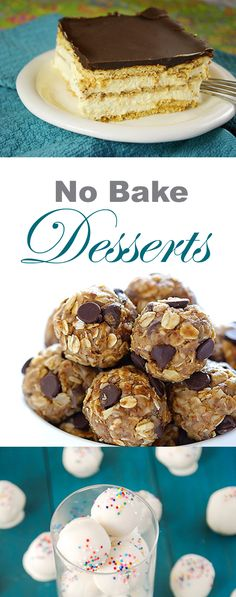 These easy, no-bake desserts are perfect for summer! #summer #nobake #pie #chocolate