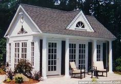 Restyled Home: Pool Houses...