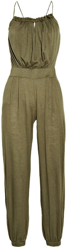 T-Bags Venezia stretch-jersey jumpsuit on shopstyle.co.uk
