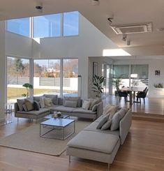 Dream House Interior, Dream Home Design, Modern House Design, Modern Interior Design, Small House Design, Elegant Living Room, Decoration Design, Home Decor Shops, Cheap Home Decor