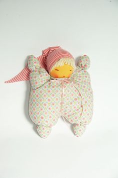 Waldorf Inspired Doll Cuddle Doll by Atelier Lavendel  by AlicaK
