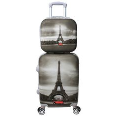 Carry-on Luggage Collections | World Traveler Destination Collection 2Piece Paris >>> Continue to the product at the image link.(It is Amazon affiliate link) #unitedstates