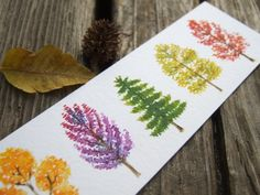 Plants painting pencil 23 Ideas for 2019 Plant Painting, Plant Drawing, Painting Frames, Watercolor Trees, Watercolor Paintings, Watercolor Bookmarks, Watercolor Techniques, Small Paintings, Original Paintings