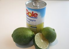 Pineapple juice, lime juice and a few other simple ingredients make the marinade