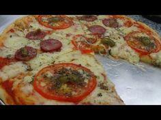 A MELHOR MASSA DE PIZZA CASEIRA que você respeita - YouTube