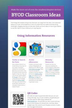 BYOD Classroom Ideas