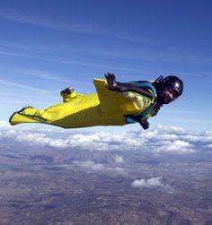 Wingsuit, parachutisme et BASE jump: Hatch   Écureuil