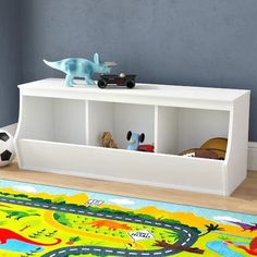 Wood Storage Containers You'll Love in 2020 Toy Storage Bench, Modular Storage, Wood Storage, Storage Containers, Storage Shelves, Storage Ideas, Extra Storage Space, Storage Spaces, Cubbies