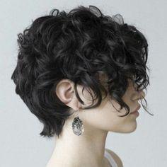 Capelli Ricci Corti Dietro Lunghi Davanti Hair With Flair Curly