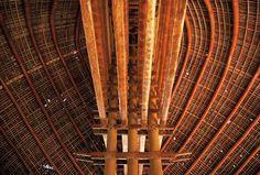 Inside Samoan Fale.
