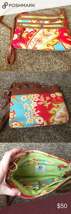Spartina449 cross body bag! Like new! Used about 3 times! Great condition spartina  Bags Crossbody Bags