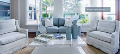 Modern Home Decor, Furniture and Accessories for Coastal Living | Pineapples Palms Too