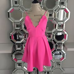 """""""This fun and flirty hot pink skater dress with a scallop edge deep v neck just arrived!  For pricing and size availability, please call us at 786-740-1407 or email us at r2cboutique@gmail.com  #LooksWeLove #OutfitsWeLove #Spring  #SummerStyle #Boutique #Fashion #Summer #Style #dress #Weekend #OOTD #OOTN #Miami #swim #onlineboutique #CoralGables #Pinecrest #SouthMiami #SouthBeach #Wynwood #PembrokePines #Midtown #Kendall #MiamiLakes #Downtown #tagforlikes #tagyourbestie #tagyourfriends"""""""