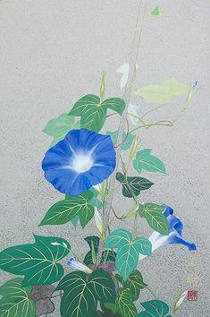 Lotus Kunst, Lotus Art, Japanese Art Styles, Japanese Prints, Korean Painting, Japanese Painting, Oriental, Art And Illustration, Geisha Art