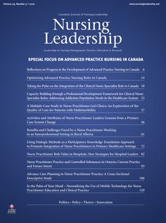 Nursing Leadership 29.3